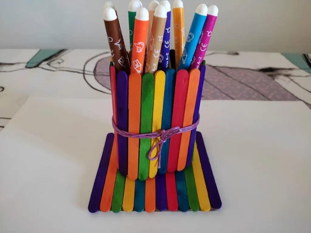 Bote organizador de lápices