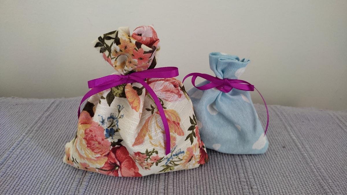 Bolsas de tela para perfumar