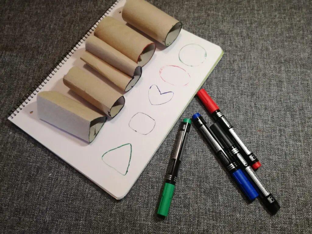 Sellos con rollos de papel