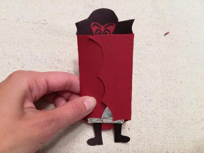 Envoltorio vampiro chocolatina